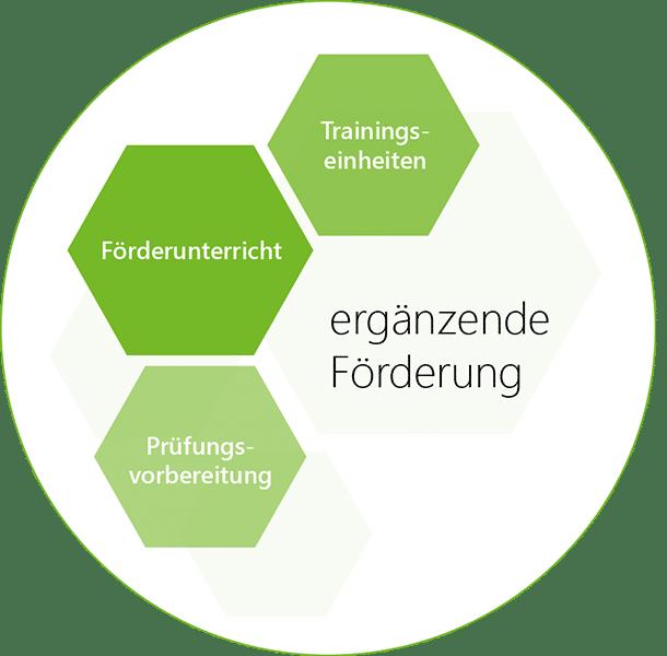 Ergänzende Förderung des GBBR - Förderunterricht, Trainingseinheiten, Prüfungsvorbereitung